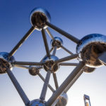 Das Atomium – eines der Wahrzeichen von Brüssel