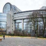 Das Europäische Parlament im EU-Viertel