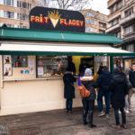 Der Stand von Frit Flagey in Brüssel