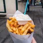 Pommes frites von Frit Flagey in Brüssel