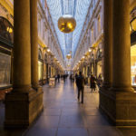 Die Passage Galeries Royales Saint-Hubert in Brüssel