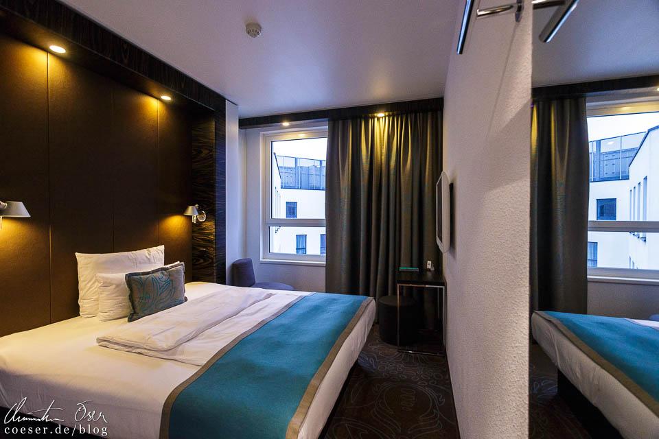 Br ssel sch nheit im grauen mantel reiseblog von for Motel one doppelzimmer