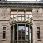 Das Jugendstilgebäude (Art nouveau) Hôtel Tassel in Brüssel