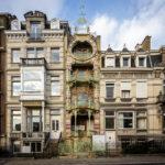 Das Jugendstilgebäude (Art nouveau) Huis Saint-Cyr in Brüssel