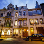 Das Jugendstilgebäude (Art nouveau) Hôtel Maison & Atelier Horta in Brüssel