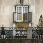 Das Jugendstilgebäude (Art nouveau) Palais Stoclet in Brüssel