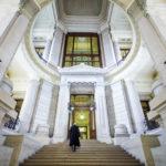 Innenansicht des Justizpalasts in Brüssel