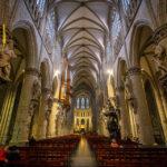 Innenansicht der Kathedrale St. Michael und St. Gudula