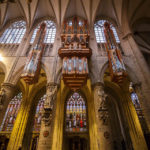 Die Schwalbennestorgel in der Kathedrale St. Michael und St. Gudula