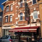 Außenansicht des Restaurants Le Zinneke in Brüssel