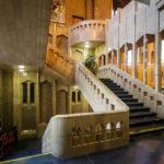 Stiegenhaus in der Nationalbasilika des Heiligen Herzens
