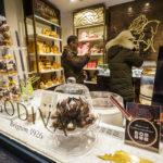 Pralinengeschäft von Godiva in den Galeries Royales Saint-Hubert