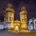 Das beleuchtete Gefängnis Prison de Saint-Gilles
