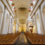 Innenansicht der Kirche Saint Jacques-sur-Coudenberg