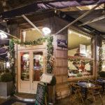 Außenansicht des Restaurants Toucan Brasserie in Brüssel