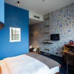 Doppelzimmer im 25hours Hotel HafenCity in Hamburg