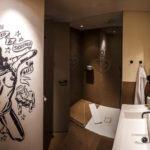 Badezimmer im 25hours Hotel HafenCity in Hamburg
