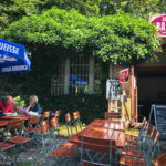 Das gemütliche Gartenlokal Altonas Balkon Café & Biergarten