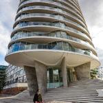 Ein modernes Wohnhaus in der HafenCity