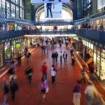 Die Wandellhalle im Hamburger Hauptbahnhof
