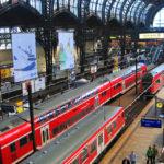 Die Haupthalle im Hamburger Hauptbahnhof