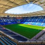Innenansicht des Hamburger Volksparkstadions