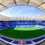 Panorama des Hamburger Volksparkstadions