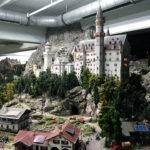 Schloss Neuschwanstein in der Modelleisenbahn Miniatur Wunderland