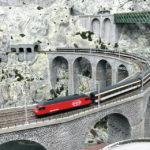 Der Schweiz-Abschnitt in der Modelleisenbahn Miniatur Wunderland