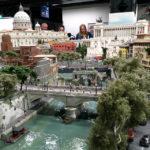 Rom im Italien-Abschnitt in der Modelleisenbahn Miniatur Wunderland