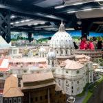 Der Italien-Abschnitt in der Modelleisenbahn Miniatur Wunderland
