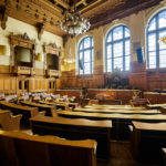 Plenarsaal im Hamburger Rathaus