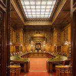 Die Ratsstube im Hamburger Rathaus