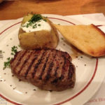 Ein Filet Mignon im Steaklokal Block House