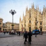 Mailänder Dom auf dem Piazza del Duomo