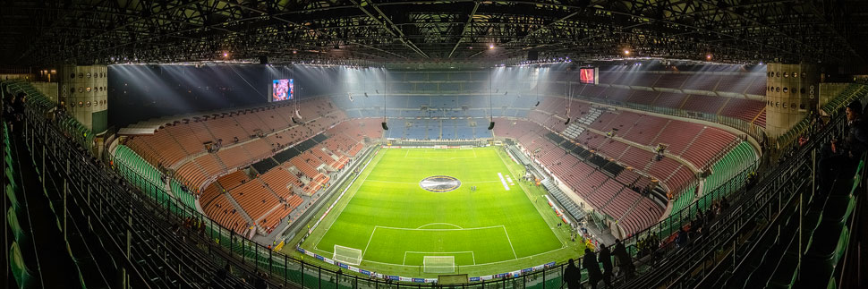 Giuseppe-Meazza-Stadion (San Siro) in Mailand