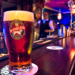 Ein Pint McFarland im Irish Pub Blues Canal