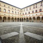 Innenhof im Mailänder Schloss (Castello Sforzesco)