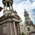 Gräber auf dem Cimitero Monumentale in Mailand