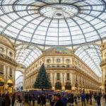 Panorama der Galleria Vittorio Emanuele II