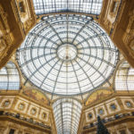 Das Glasdach der Galleria Vittorio Emanuele II