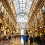 Innenansicht der Galleria Vittorio Emanuele II