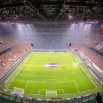 Panorama des Giuseppe-Meazza-Stadions (San Siro)