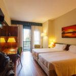 Doppelzimmer im Hotel Raffaello in Mailand
