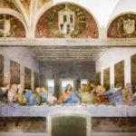 "Leonardo da Vincis Wandgemälde ""Das Abendmahl"" (Il Cenacolo) in Mailand"