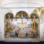 """Donato da Montorfanos Wandgemälde """"Die Kreuzigung"""" in Mailand"""