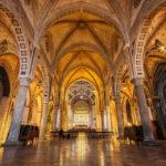 Innenansicht der Kirche Santa Maria delle Grazie in Mailand