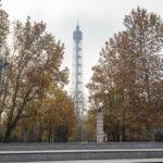 Der Aussichtsturm Torre Branca im Parco Sempione