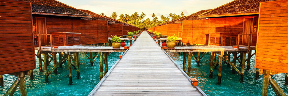 Jacuzzi Water Villa auf Meeru (Malediven)