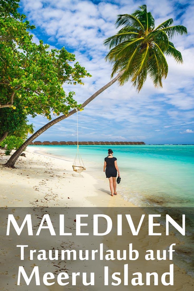 Malediven: Reisebericht über das Meeru Island Resort and Spa mit Erfahrungen zum Strandurlaub, Sehenswertem, den besten Fotospots sowie allgemeinen Tipps und Restaurantempfehlungen.